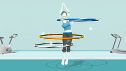 Wii Fit Trainer UB 01.JPG