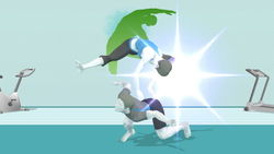 Wii Fit Trainer Dthrow.JPG